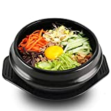 EgBert Coreano Dolsot Bowl Gran Tamaño Barro Olla De Piedra Bibimbap Cocina + Trivet Set...