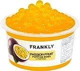 FRANKLY Popping Boba - Esferas de fruta para Bubble tea, té de burbujas, yogur, pasteles...