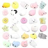 29 Piezas Mochi Squishy Toys, ZoneYan Kawaii Squishy, Squishies de Animales Y fruta,...