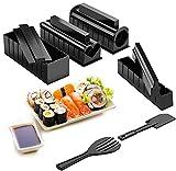 Hbsite Sushi kit, 10 Pcs Sushi Maker kit, Kit de herramientas DIY Home Sushi Maker para...
