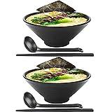 2 juegos (6 piezas) Japonés Conjuntos de cuencos de ramen Tazón de sopa de fideos ramen...