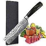 UniqueFire Cuchillo Chino - Cuchillo de Chef Chino - Cuchillo de Verduras de 17CM,...