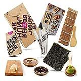 Reishunger Sushi Kit Completo (4 Personas) incl. Recetas - Caja con ingredientes de...