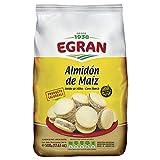 Egran- Almidón de Maíz - Libre de Gluten - Sin T.A.C.C. - Ideal para Preparar Alfajores...