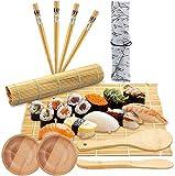 BESTZY 11pcs Kit para Hacer Sushi de Bambú Preparar Sushi Fácil Y Profesional con Este...