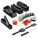 AGPTEK Juego de Moldes y Herramientas de 10 Piezas para Hacer Sushi DIY(Superior)