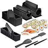 Mlryh Kit para Hacer Sushi 12 Piezas de Moldes Sushi Maker Kit de Sushi Molde de Rollo de...