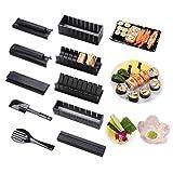 Sushi Maker kit 10pcs 5 Formas únicas de Kit para Hacer Sushi Molde Inicio Hacer Sushi...