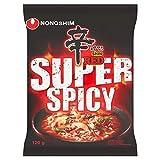 NONG SHIM Fideos Instantáneos Red Shin Ramyun, Super Spicy 120 g