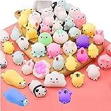libelyef 50 juguetes blandos de Mochi, Kawaii para fiestas de Pascua, juguetes para...